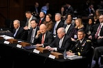 DIA Director Lt. Gen. Michael Flynn testified on Capitol Hill Jan. 29, joining other intelligence community leaders before the Senate Select Committee on Intelligence.