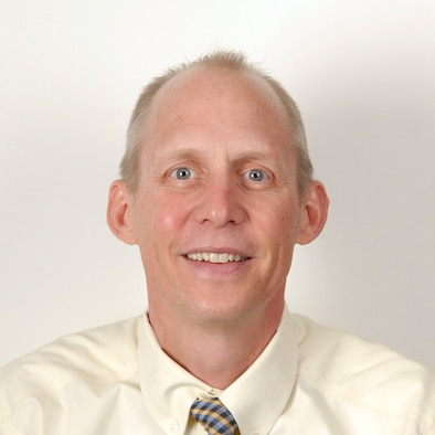 Scott Andrews, the executive director of the Academy's Community Action Information Board. (U.S. Air Force/Courtesy Photo)