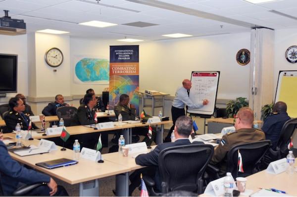 International intelligence fellows hear perspectives on management of a major intelligence organization.