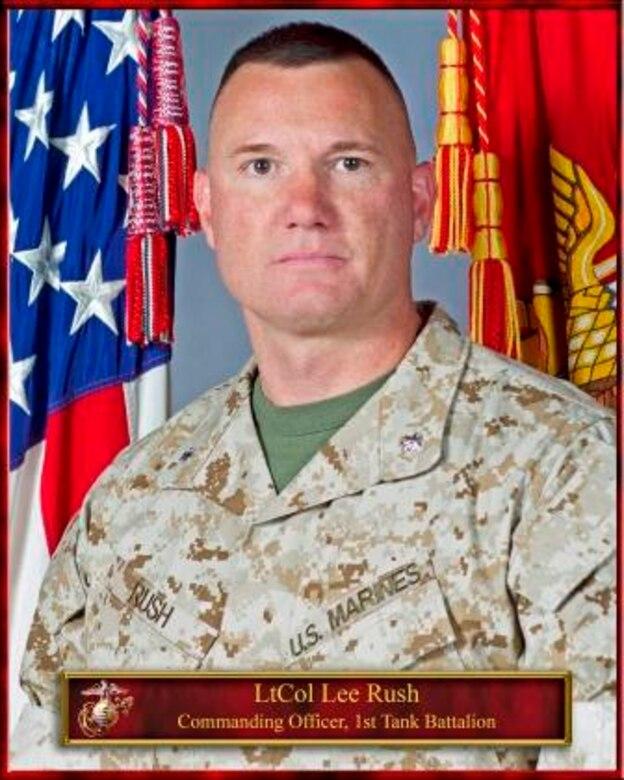 Lieutenant Colonel Rush