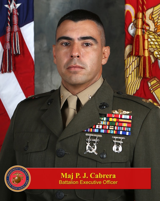 Major Pablo J. Cabrera