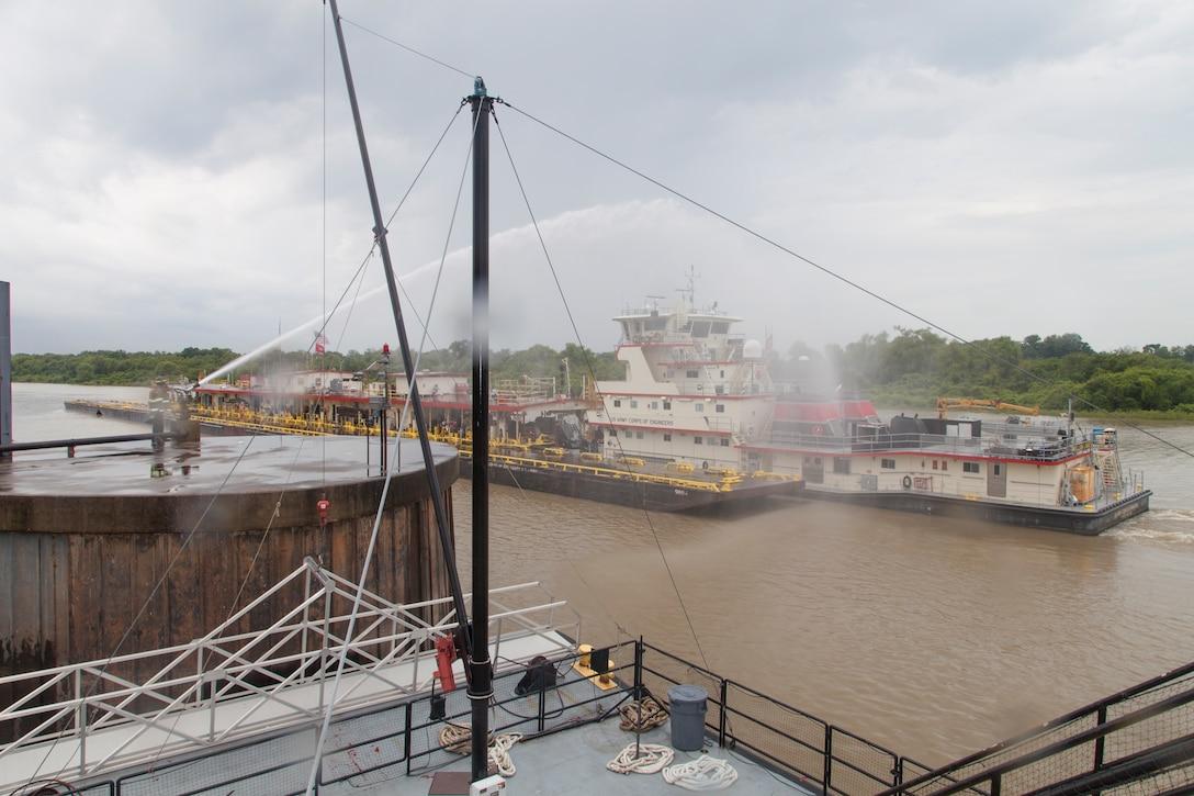 MVK Blessing of the Fleet at Vicksburg, MS riverfront