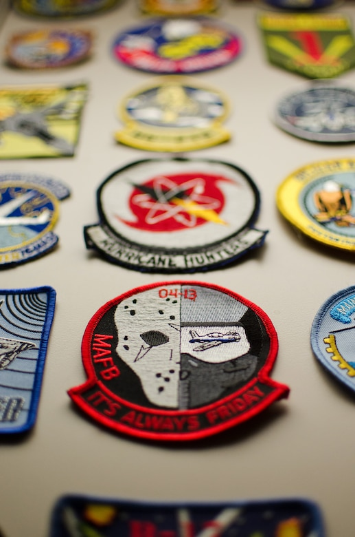 A collection of military unit patches at the Kentucky Air National Guard Base in Louisville, Ky., is believed to be the largest such display in the world. Started more than 30 years ago, the collection includes examples from every branch of the armed services, the U.S. Space Program and several foreign military units. Curators added the 3001st patch in the summer of 2014. (U.S. Air National Guard photo by Master Sgt. Phil Speck)