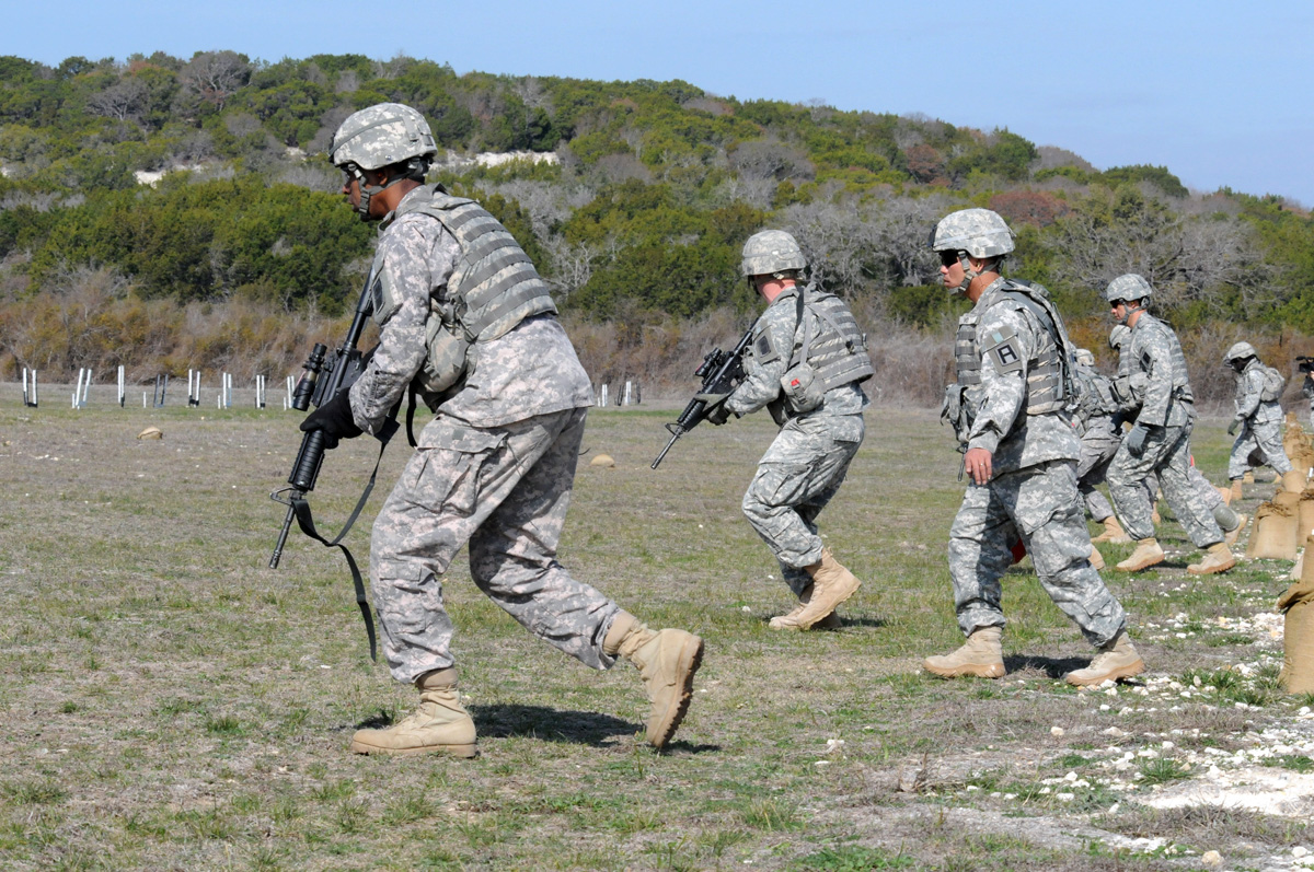 Back to basics: Active Army trainers focus on infantry ...