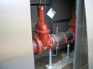 Of the 1,100 water system valves at Scott Air Force Base, Ill., 20 percent were inoperative before utilities privatization took effect. Now the upgraded system uses 50 million fewer gallons of water a year and experiences less than half the outages. The Air Force Civil Engineer Center has privatized 66 systems since 1999 creating a cost avoidance of $361 million. (Courtesy photo)