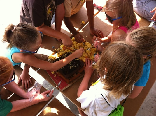 Kids Explore Archaeology At Summer Camp
