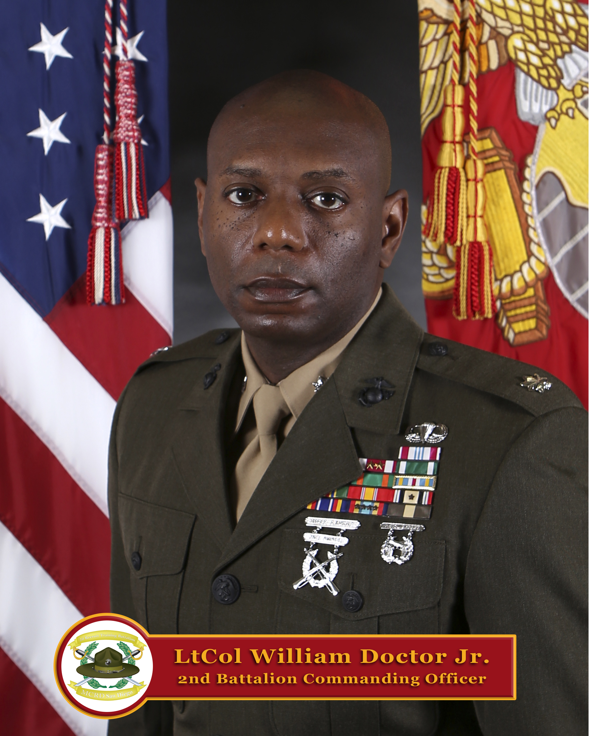 Lieutenant Colonel William Doctor, Jr. > Marine Corps ...
