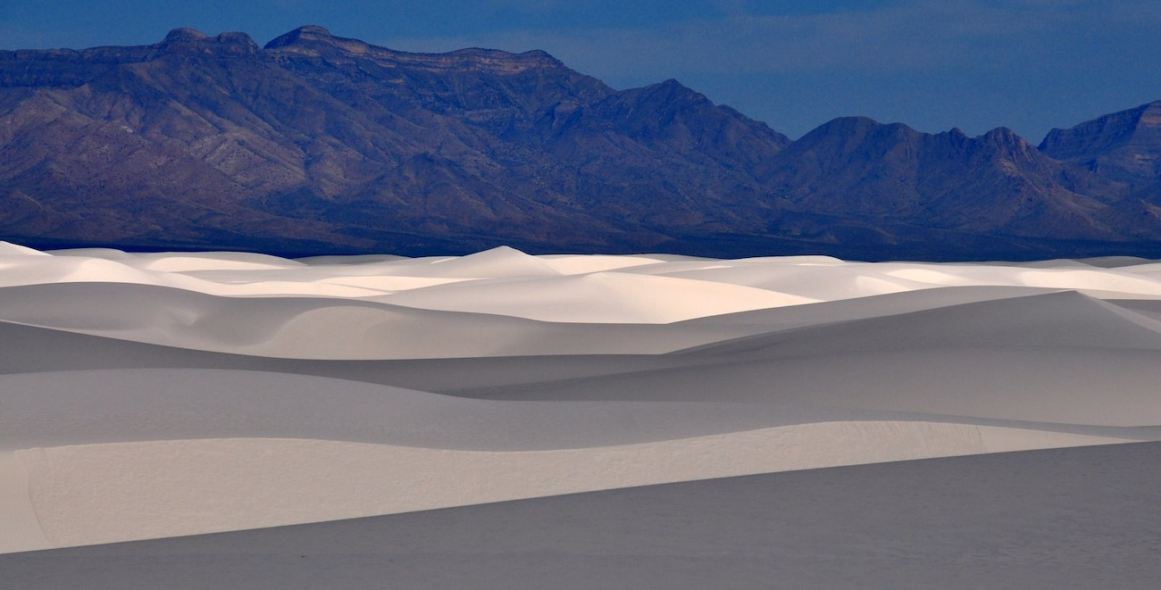 White Sands National Monument, New Mexico. Photo by Richard Banker, June 7, 2009.
