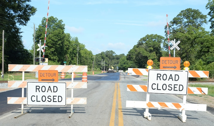 As construction on Fleming Road west of Short Street to Mock Road enters another phase toward completion, the intersection from Pecan Lane to Mock Road will be closed.