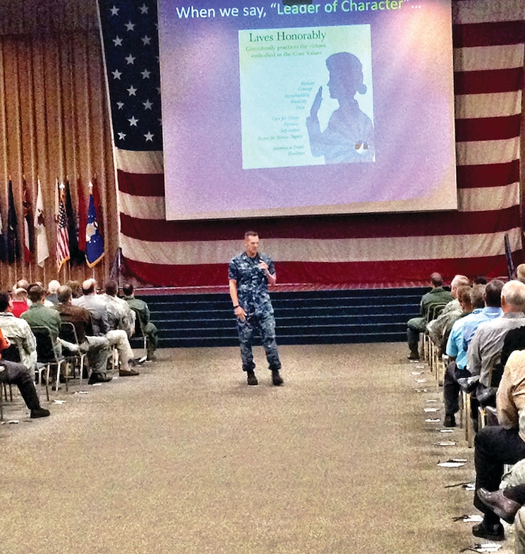 An outreach team from the Center for Character and Leadership Development here has traveled across the country to expand awareness of leadership development. (U.S. Air Force/Courtesy photo)