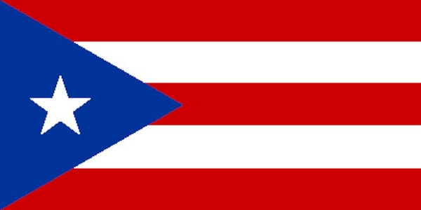 Puerto Rico Flag.