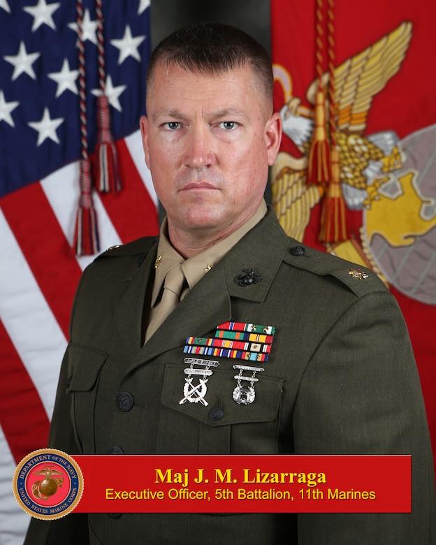 Major Joseph M. Lizarraga