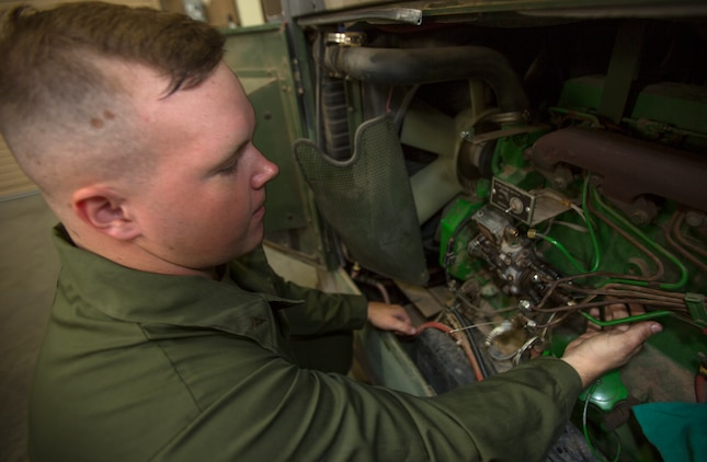 lance cpl gus obrien an engineer equipment electrical systems technician or