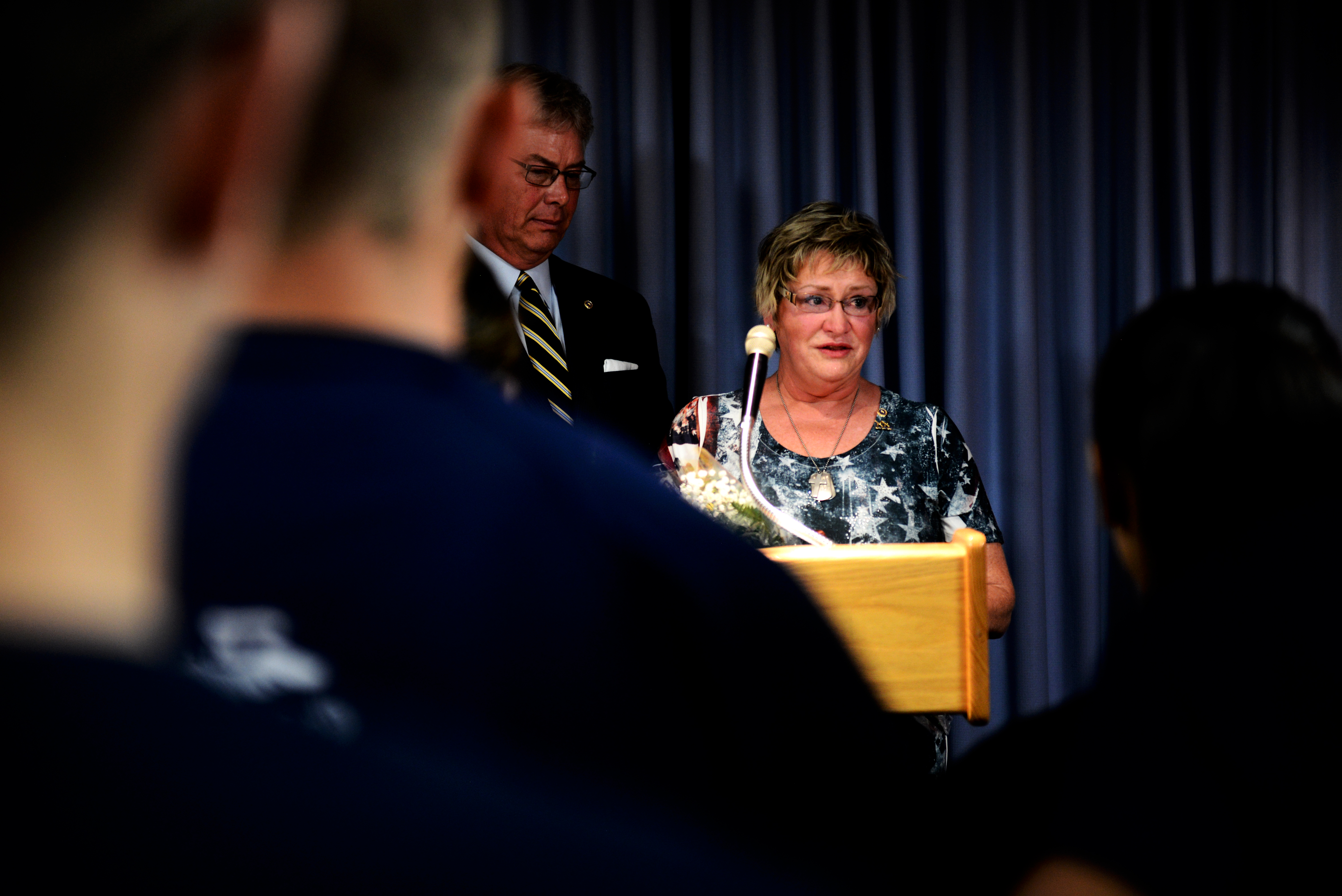 St  Louis MEPS ceremony room dedicated to fallen soldier > Scott Air