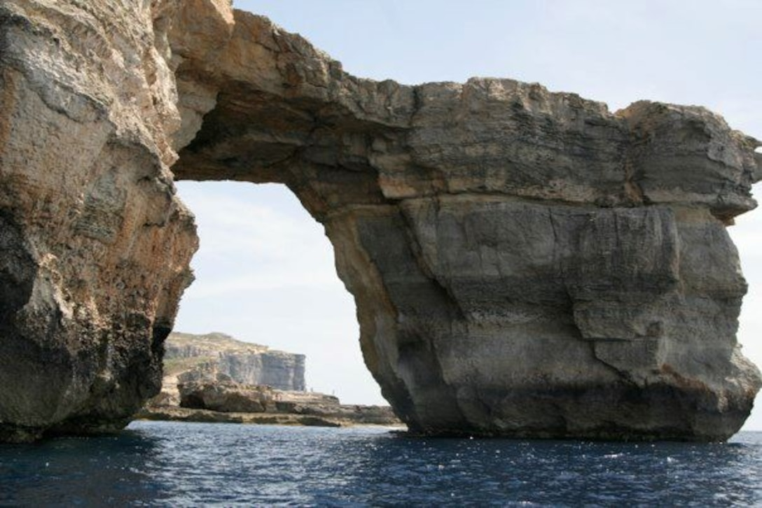 The Azure Window is another popular attraction located on the Maltese island of Gozo, close to Comino. This famous landmark is recognized in several episodes of the popular Game of Thrones TV series. (Courtesy photo)