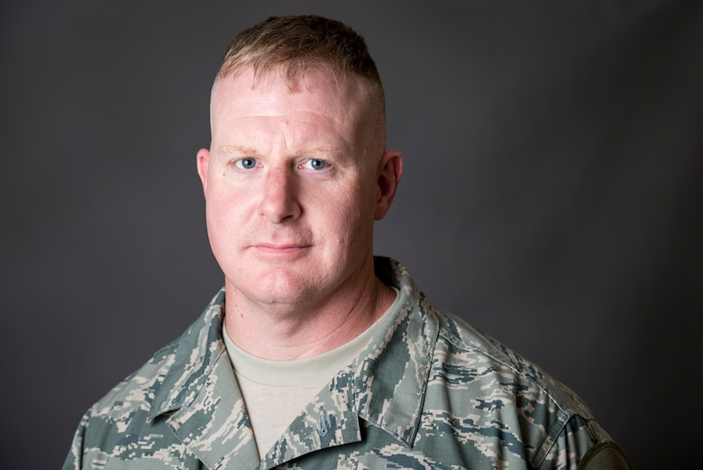 Deployed photograph of Senior Master Sgt. Eric Price. (U.S. Air Force photo by Staff Sgt. Jeremy Bowcock)