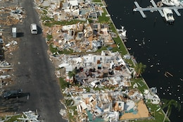 Hurricane Charley caused widespread damage to homes and businesses in southwest Florida when it came ashore near Port Charlotte on Friday, August 13, 2004.Charley was one of four hurricanes that hit the state that year.