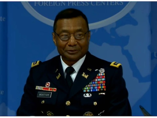 U.S. Army Chief of Engineers Lt. Gen. Thomas Bostick recently spoke to correspondents at the Washington Foreign Press Center about U.S. Army Corps of Engineers operations in the Asia/Pacific region.