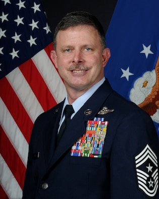 Air Force Sustainment Center Command Chief Master Sgt. Gregg Jones