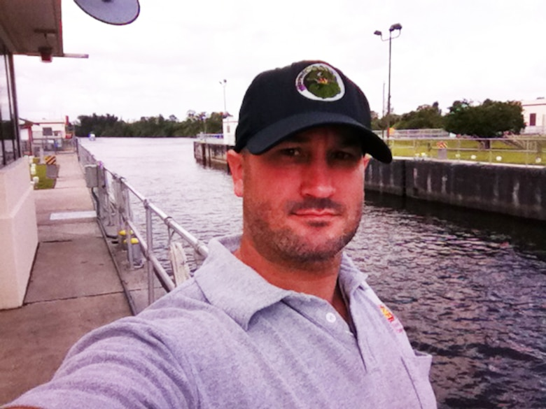 """Mark Claudio serves the nation as a lock operator and the """"face of the Corps"""" at the St. Lucie Lock and Dam on the Okeechobee Waterway."""