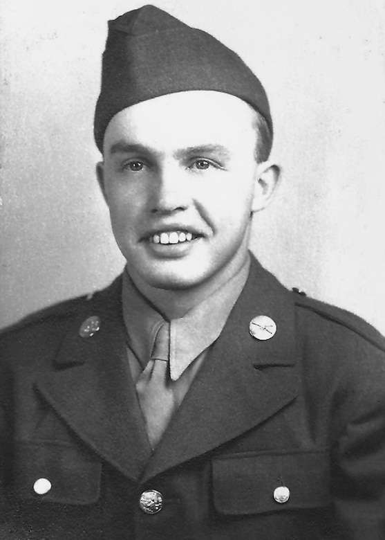 William Turner during WWII. (Photo courtesy of the Turner family)