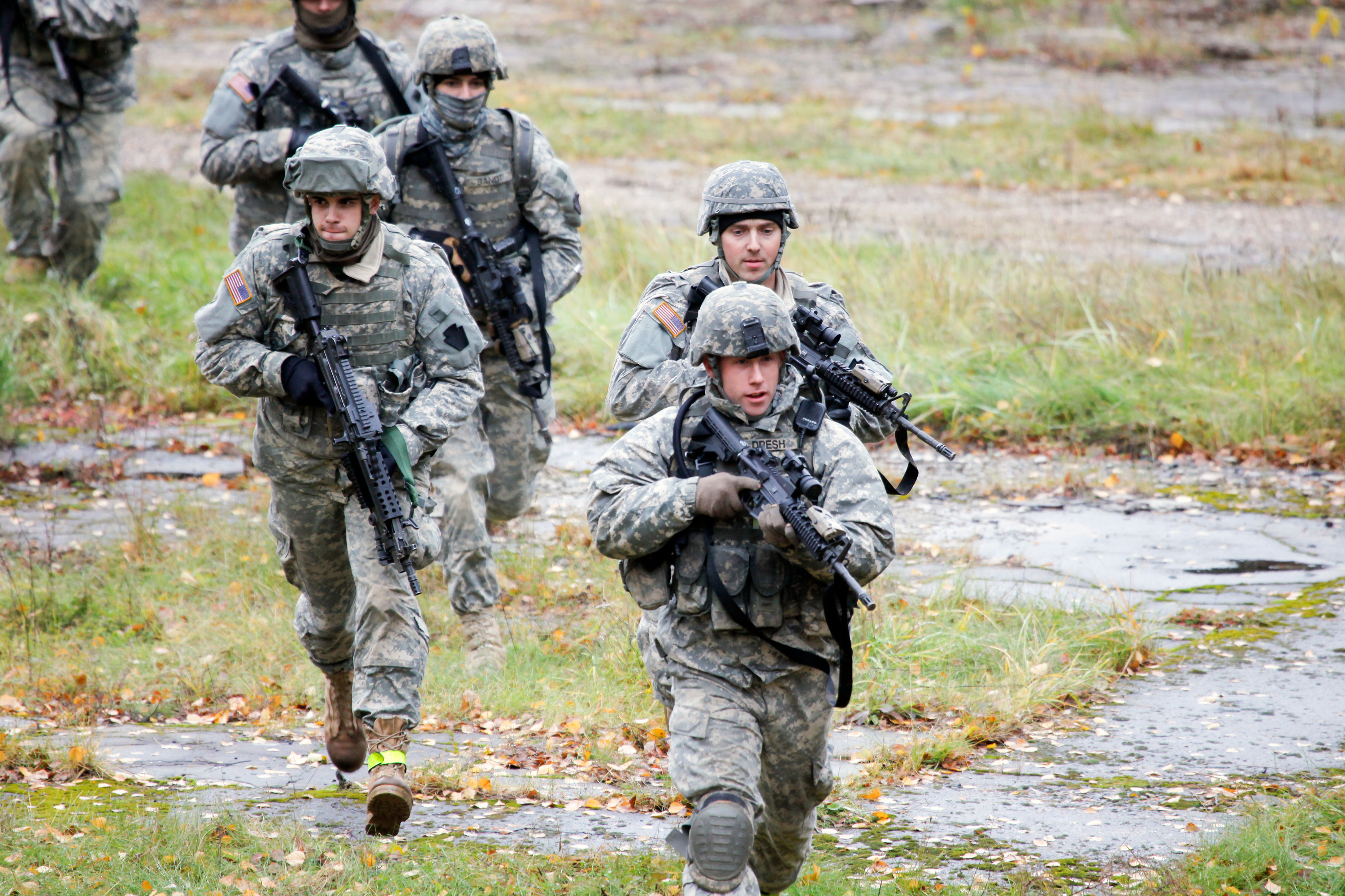 Latvia: Air and Army National Guard members train as part of Saber ...