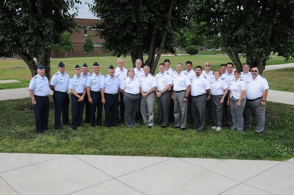 MCGHEE TYSON AIR NATIONAL GUARD BASE, Tenn. - Civil Air Patrol members participate in training at the I.G. Brown Training and Education Center June 3, 2014.  (U.S Air National Guard photo by Senior Master Sgt. Paul Mann/Released)