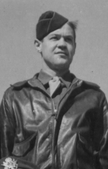 Sgt. John H. Pear was an original member of Oregon's first aviation unit, the 123rd Observation squadron.  He later served as an aerial gunner in the 401st Bomb Group (H) and completed 30 combat missions in 1944.  (Courtesy 401st Bomb Group (H) Association)