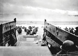 D-Day landing in Normandy, France.