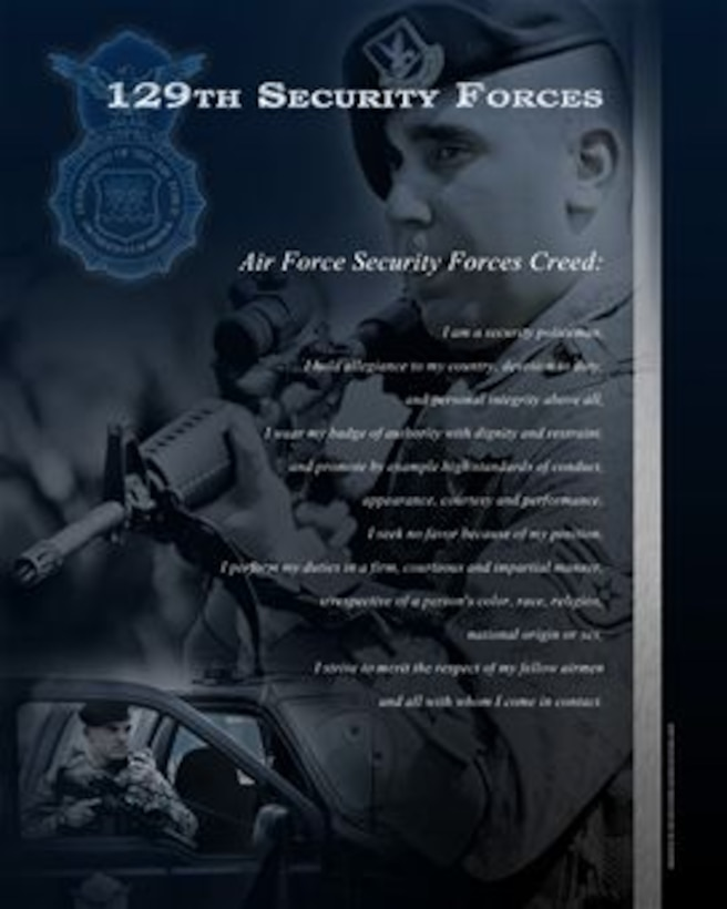 Air Force Security Forces Creed