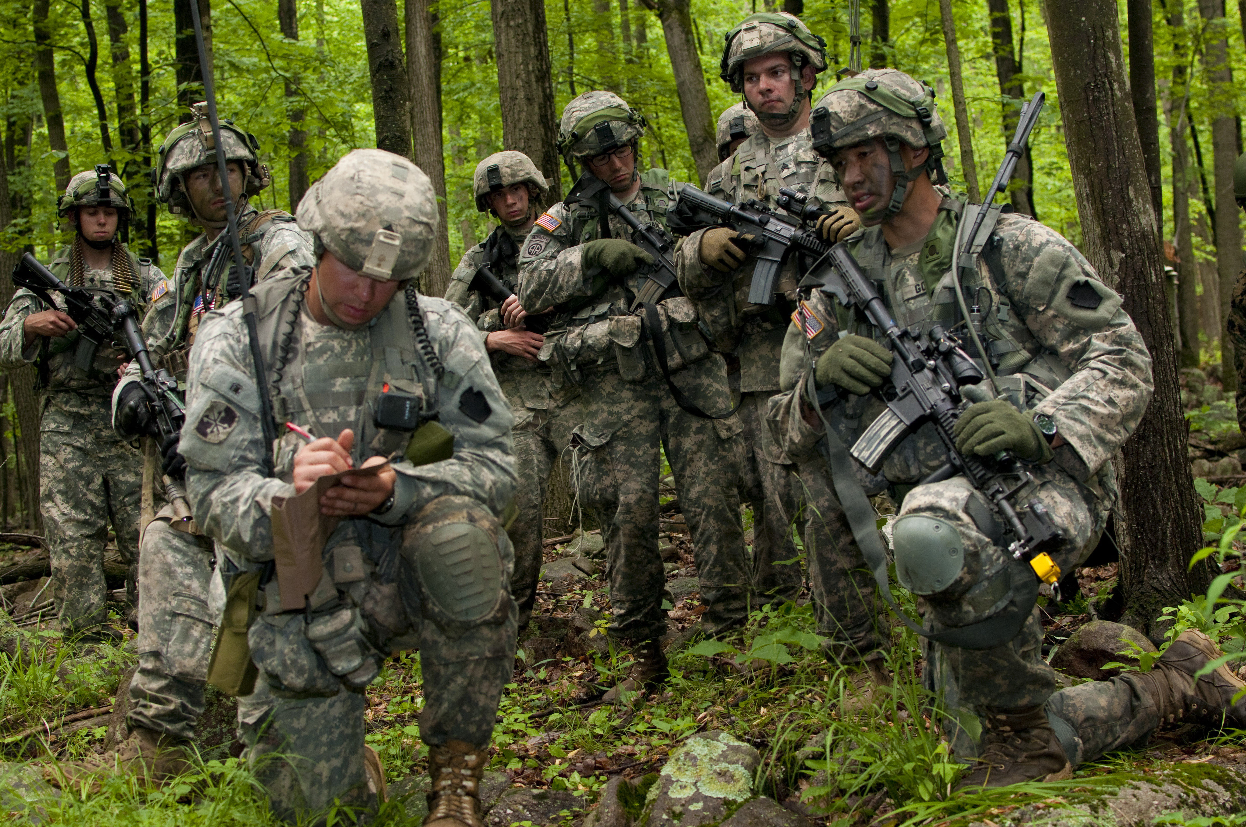 state partnership program: maryland soldiers gain new perspectives
