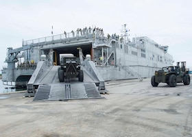 JCSE embarks on USNS Spearhead for mission supporting USSOUTHCOM area of operations