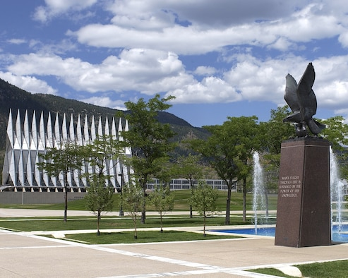The Air Garden at the Air Force Academy. (U.S. Air Force/Courtesy Photo)