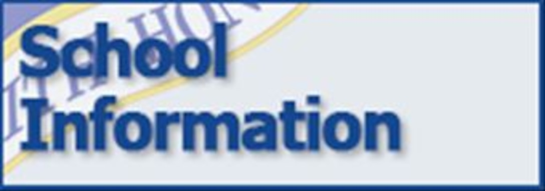 School Information tab