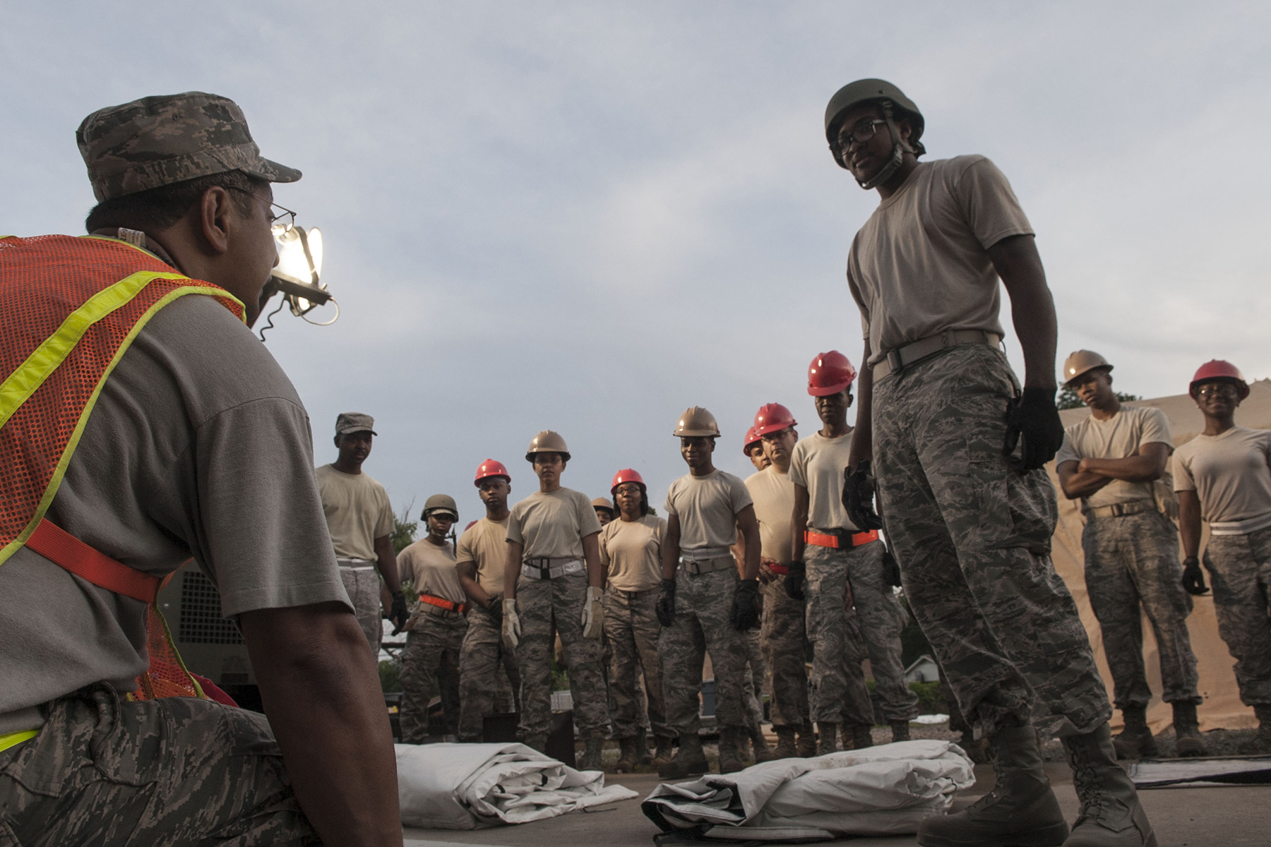 307th Force Support Squadron completes annual training