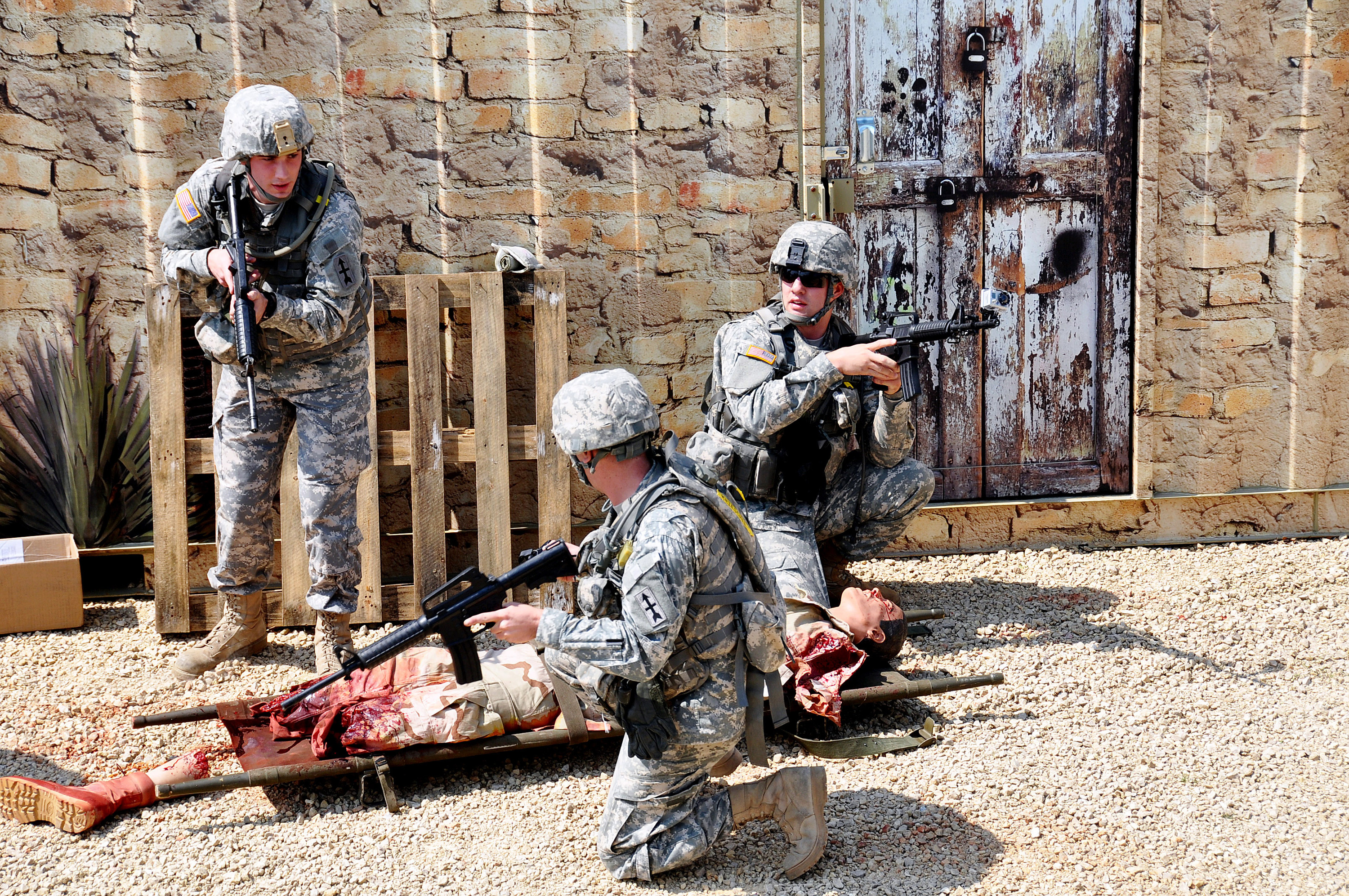 wisconsin guard medics train as they fight  u0026gt  national