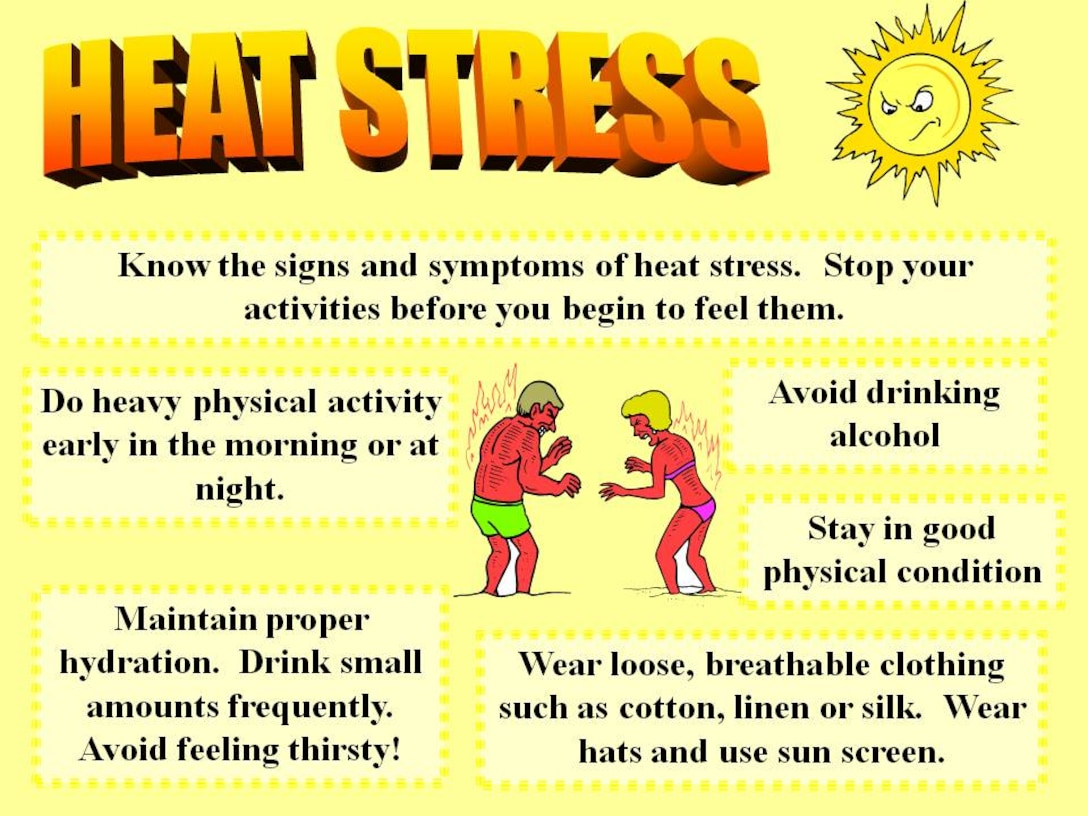 Critical Days of Summer Week 5: Protect yourself from heat