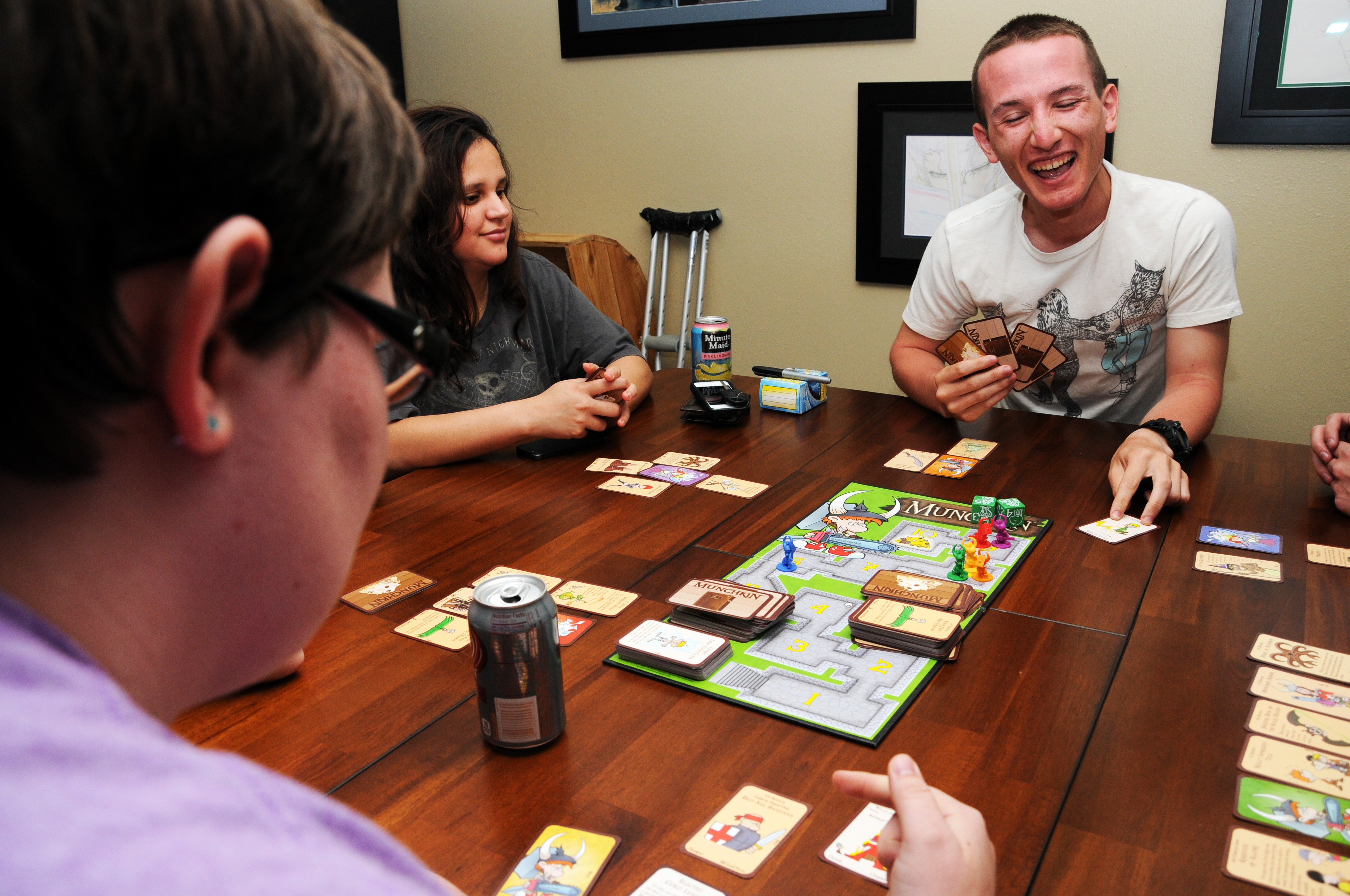 Playing tabletop games - Give Board Games A Chance Roll The Dice