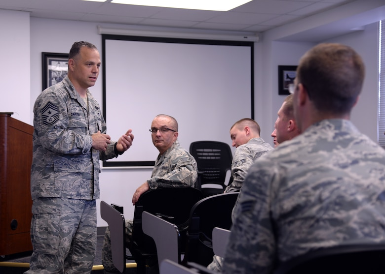 U.S. Air Force Chief Master Sgt. Matthew Caruso, Air Force Special