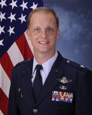 Lt. Col. Matthew Zamiska, 325th Training Support Squadron commander