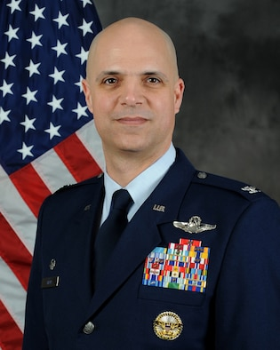 Col. Michael Bob Starr official photo