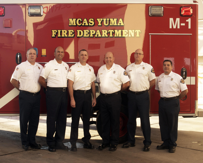 Mcas Yuma Fire Department Wins Dod Fire Prevention Program Of The