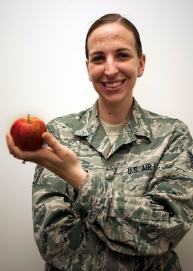 Staff Sgt. Jessica Tabor has a passion for teaching and enjoys helping people understand how to treat others with dignity and respect. Tabor is a 673d Air Base Wing Equal Opportunity specialist and a native of Papillion, Neb. (U.S. Air Force photo/Staff Sgt. Robert Barnett)
