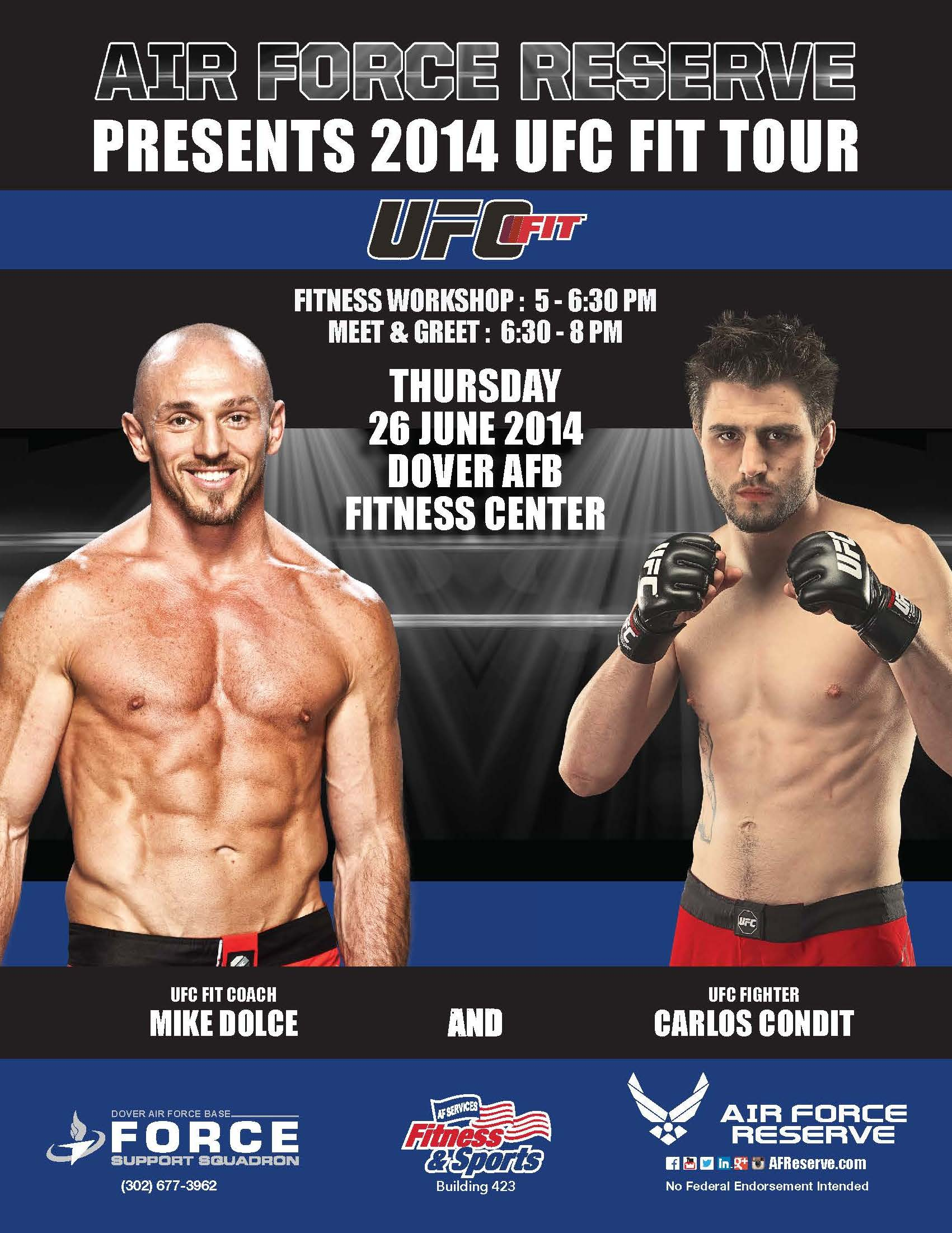 Ufc Fit Tour Comes To Dover Afb 512th Airlift Wing Article Display
