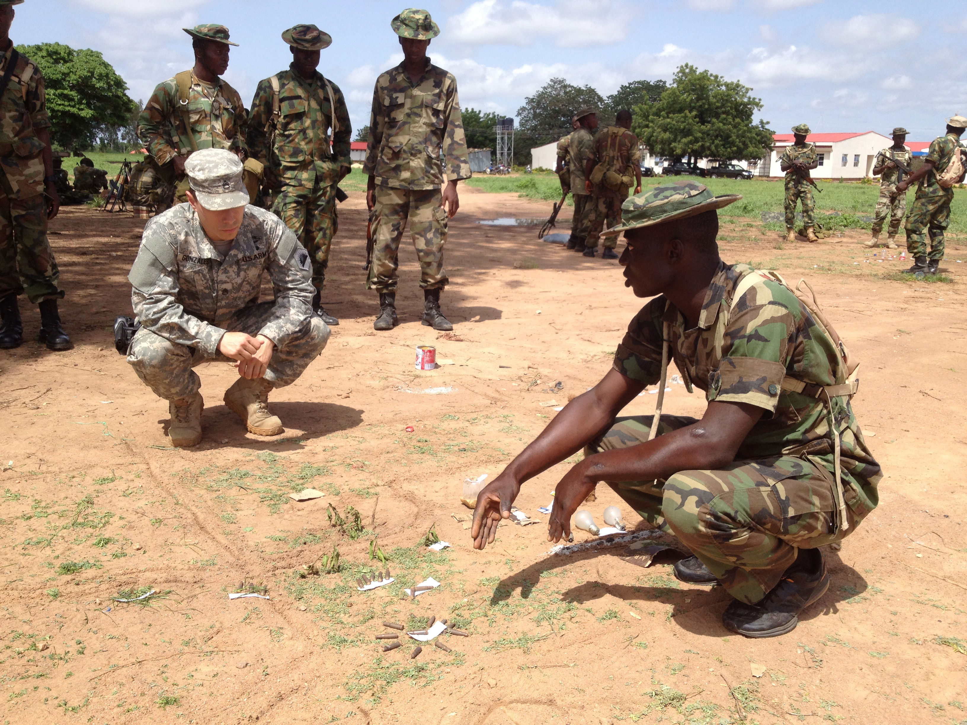 Nigerian Army Special Forces   www.imgkid.com - The Image ...  Nigerian Army Special Forces