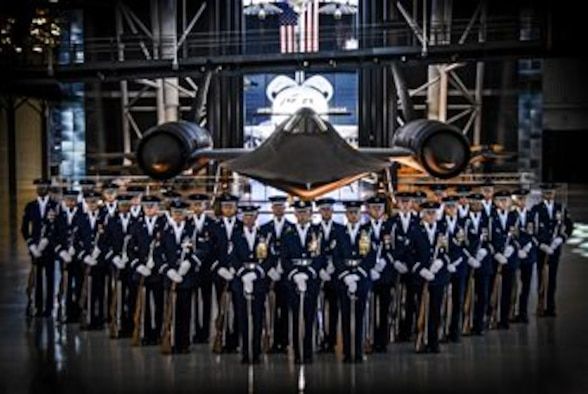 The United States Air Force Honor Guard Drill Team (U.S. Air Force graphic)