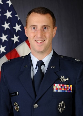 Lt. Col. Matthew Cantore, 3rd Space Experimentation Squadron commander