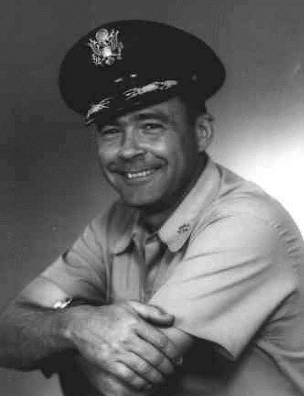 Lt. Col. Garnet D. Page, 16th Fighter Interceptor Squadron commander, 51st Fighter Interceptor Wing, Naha Air Base, Okinawa. Page led a group of six F-102 Delta Daggers on a deployment to Tan Son Nhut AB, Vietnam, to deter North Vietnamese aggression in August 1964. (U.S. Air Force photo/Historical Archives)