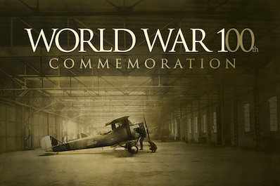 2014-2018 commemorates the centennial of the First World War. High above the trenches, our soldiers witnessed the advent of military aviation, which forever altered the shape of modern combat and made WWI unlike any other conflict in human history. Aug. 4, 2014 marked the beginning of the centenary, which concludes on Nov. 11, 2018. Click the picture to view World War I news and featured artifacts.