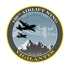 120th Airlift Wing Patch (U.S. Air Force Illustration by Master Sgt. Jason Johnson)
